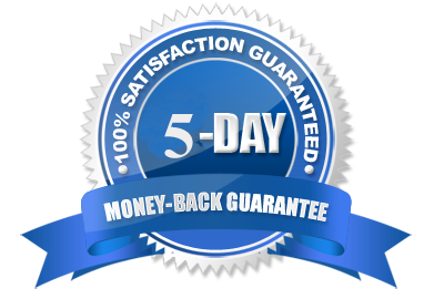 5 Days Moneyback Guarantee