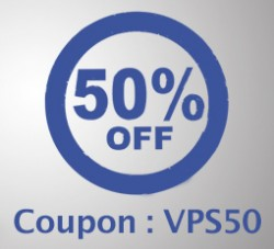 VPS With 50% Discount